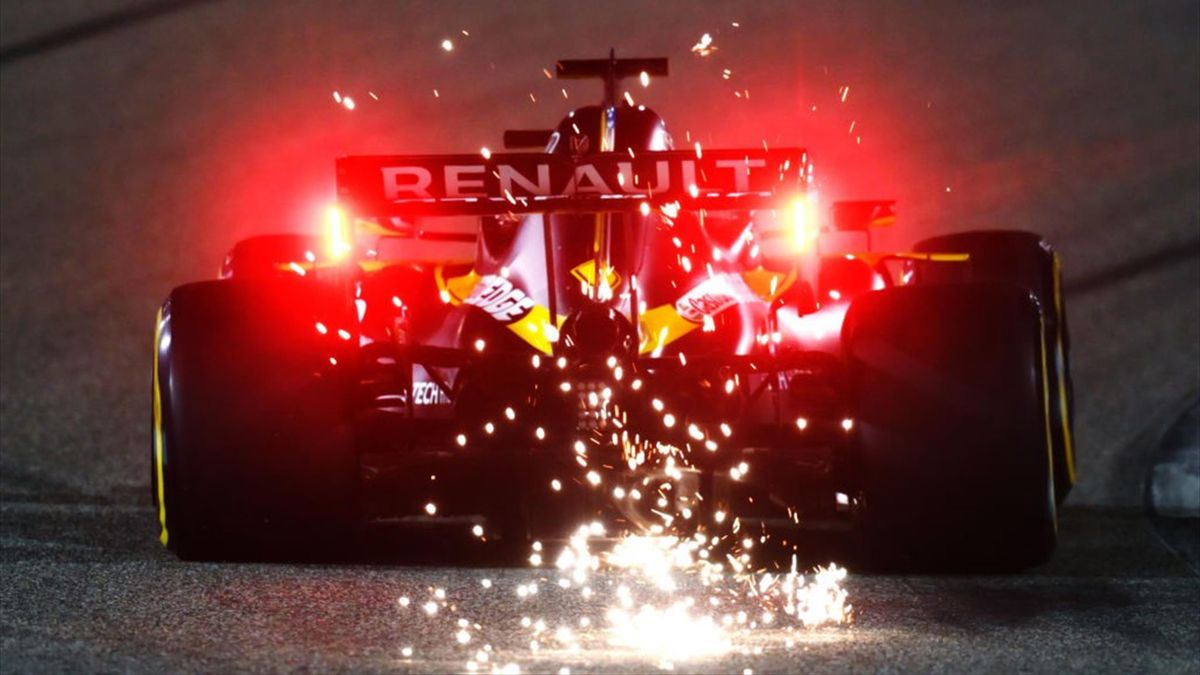 Daniel Ricciardo (Renault) au Grand Prix de Sakhir 2020