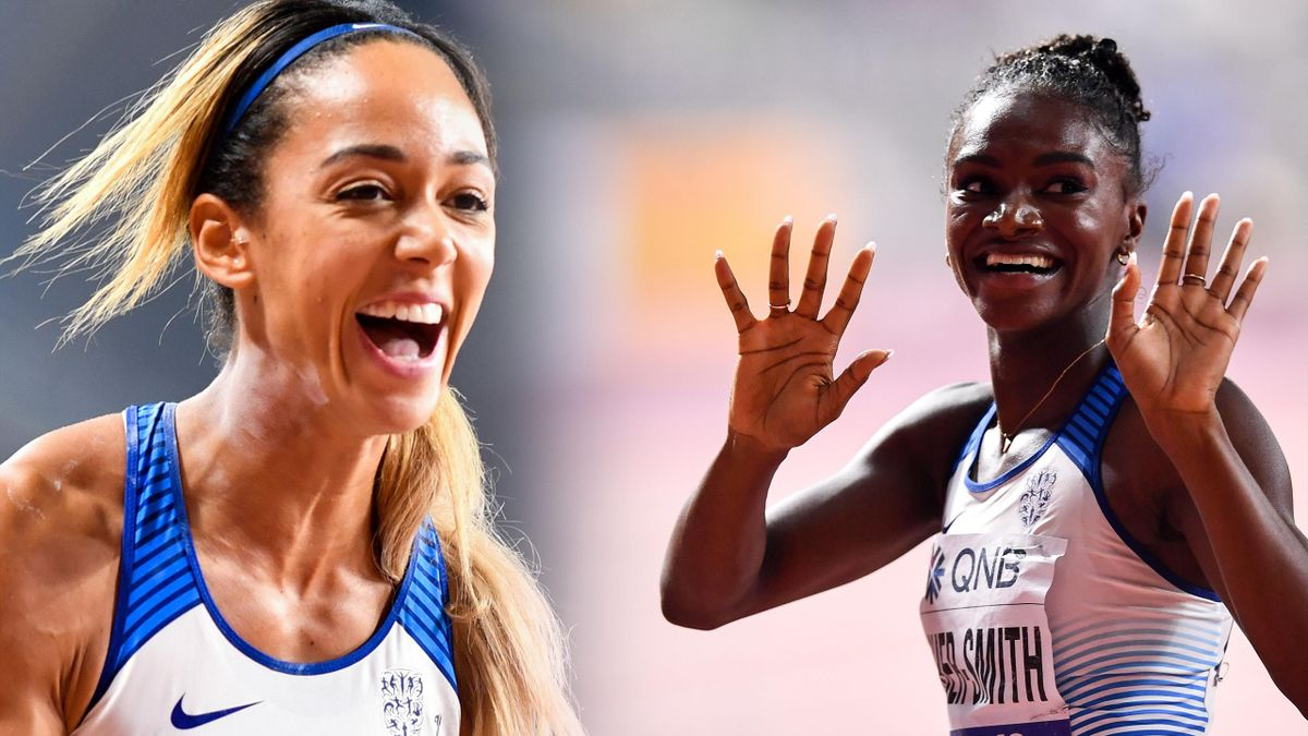 Katarina Johnson-Thompson and Dina Asher-Smith