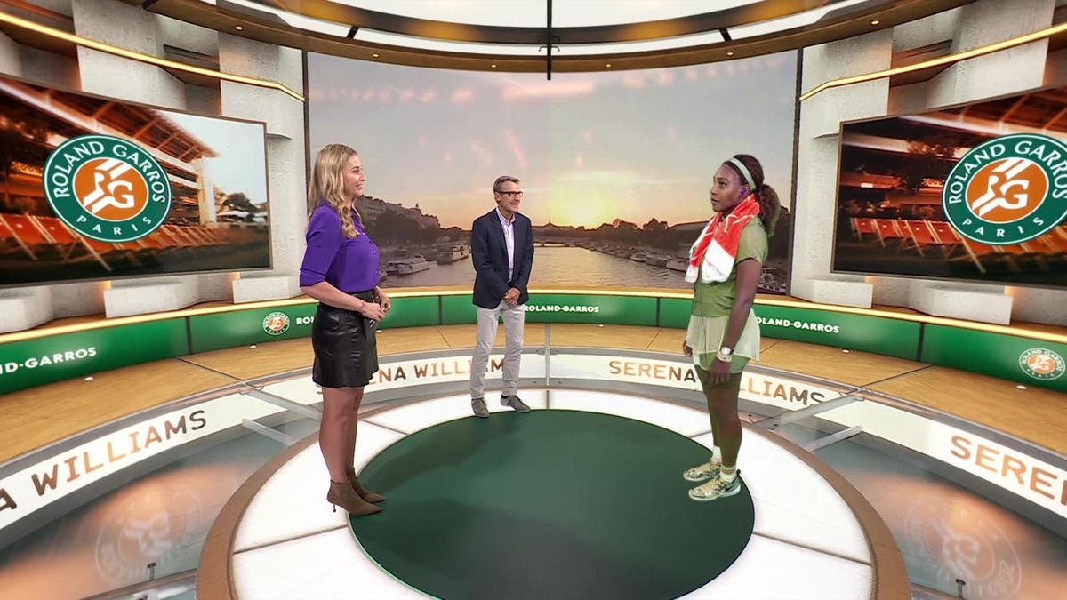 The Cube - 'I want to improve' - Serena on victory over Buzărnescu
