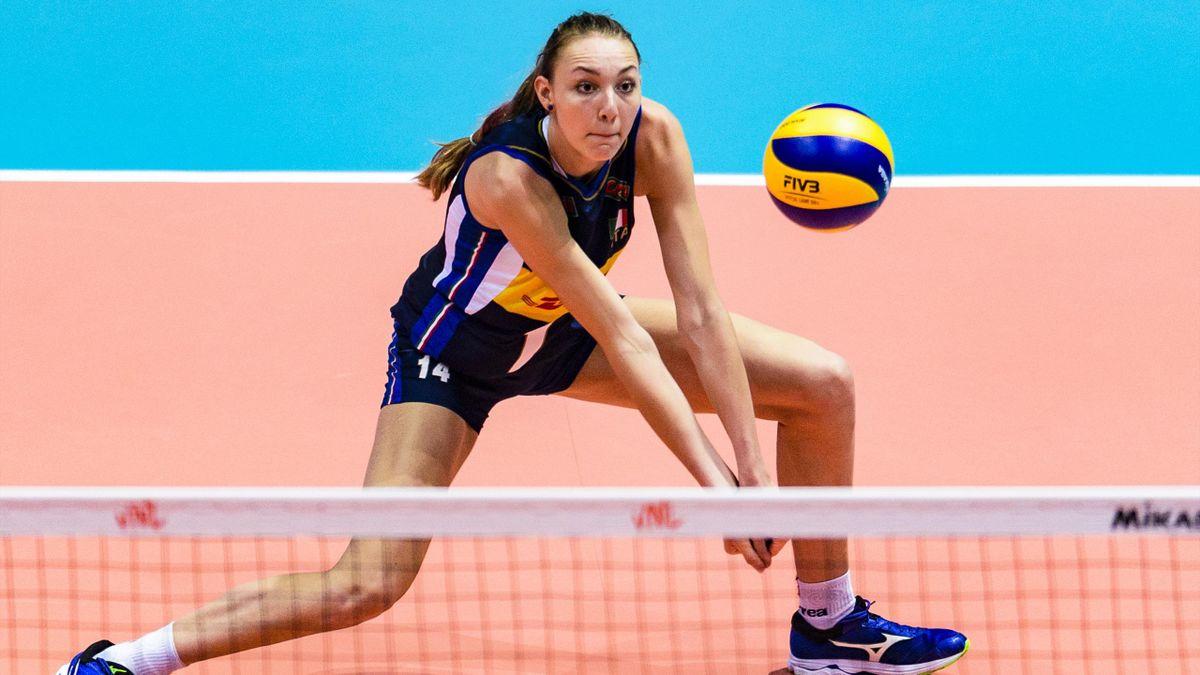 Elena Pietrini - Women's Nations League 2019 - Getty Images