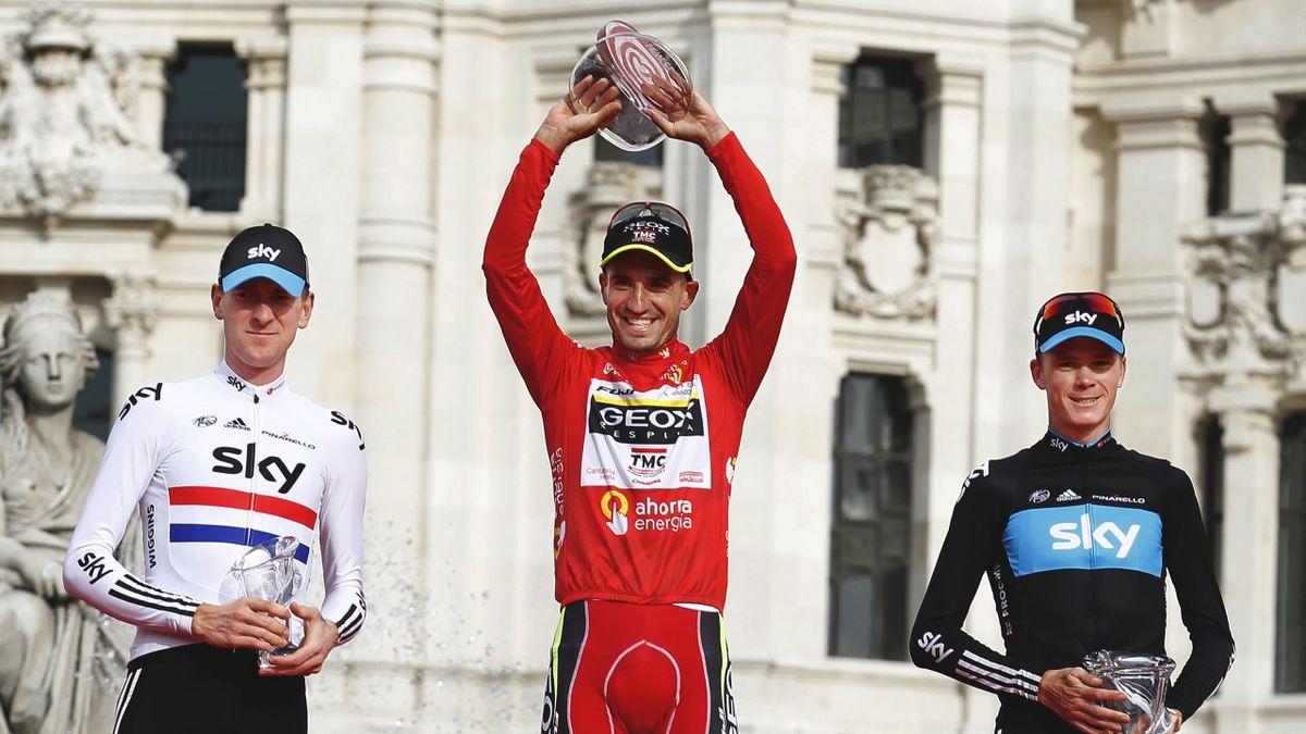 Cobo, Wiggins, Froome - Vuelta a España 2011 - Getty Images