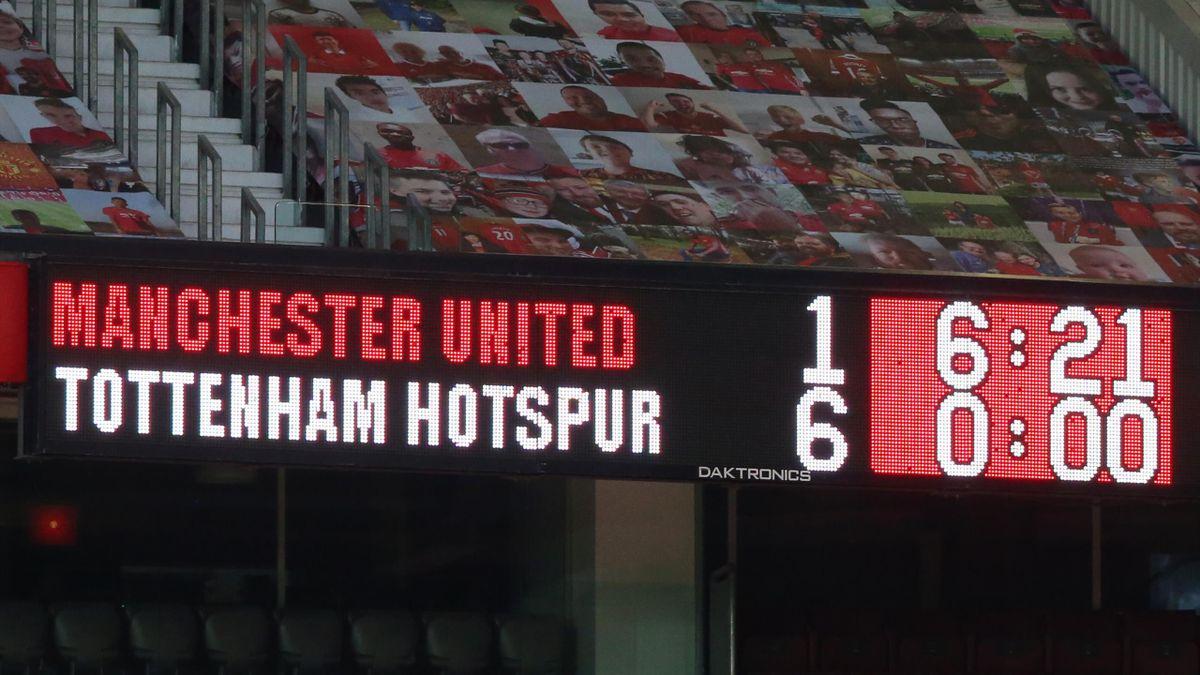Manchester United scoreboard