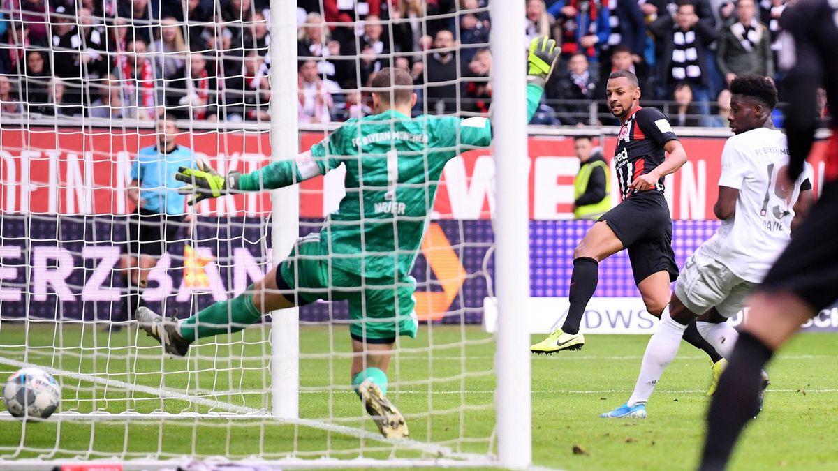 Le Bayern balayé sur la pelouse de l'Eintracht
