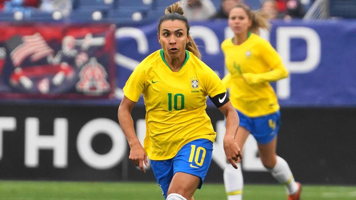 Marta, la star du Brésil