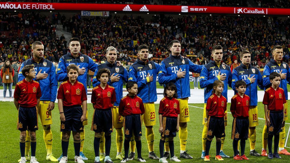 Spain v Romania