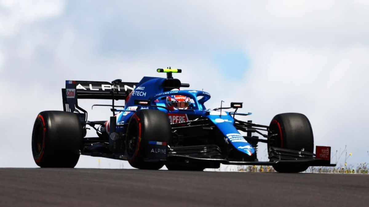 Esteban Ocon (Alpine) au Grand Prix du Portugal 2021