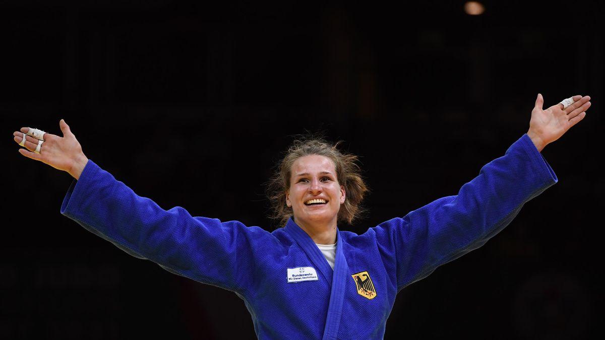 Anna-Maria Wagner gewinnt Gold in der Klasse bis 78 kg