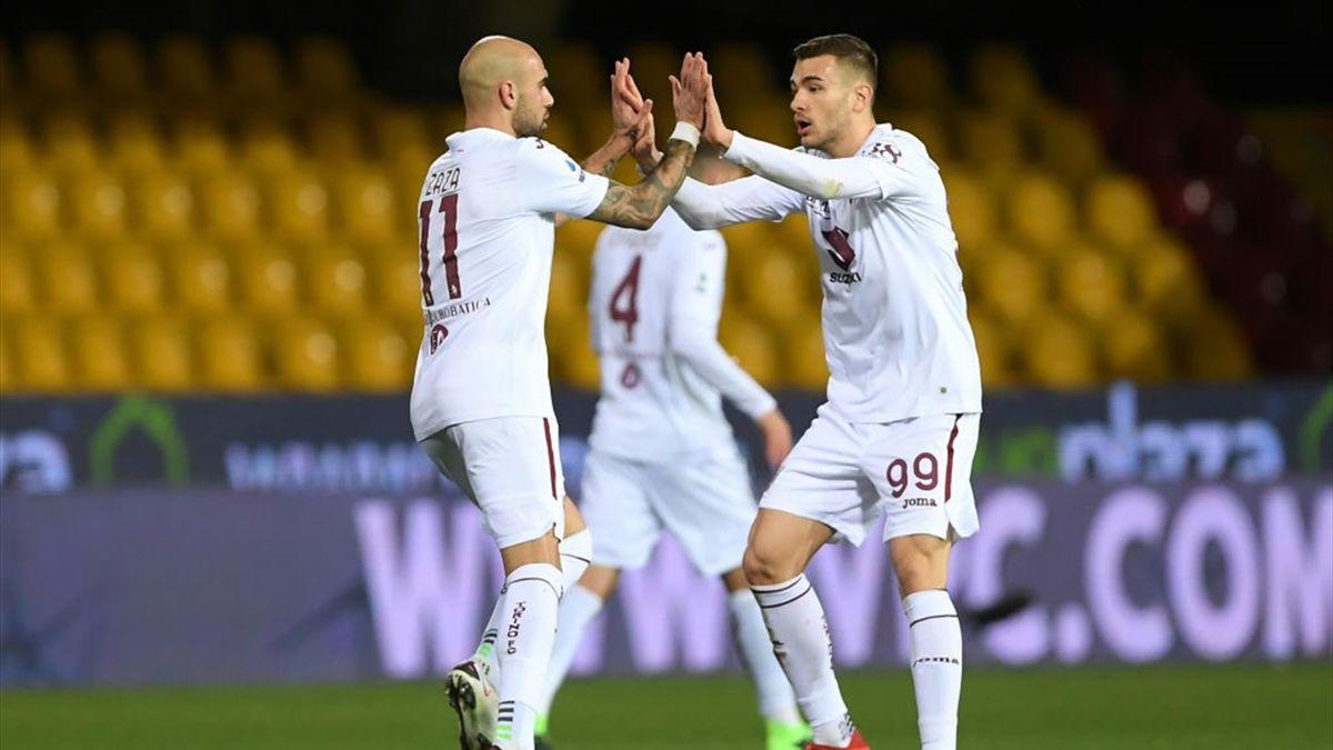 Simone Zaza - Benevento-Torino Serie A 2020-21
