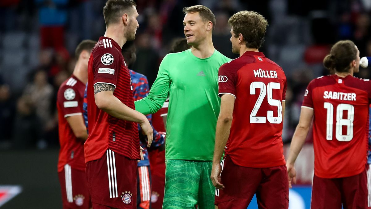 Niklas Sule, Manuel Neuer și Thomas Muller