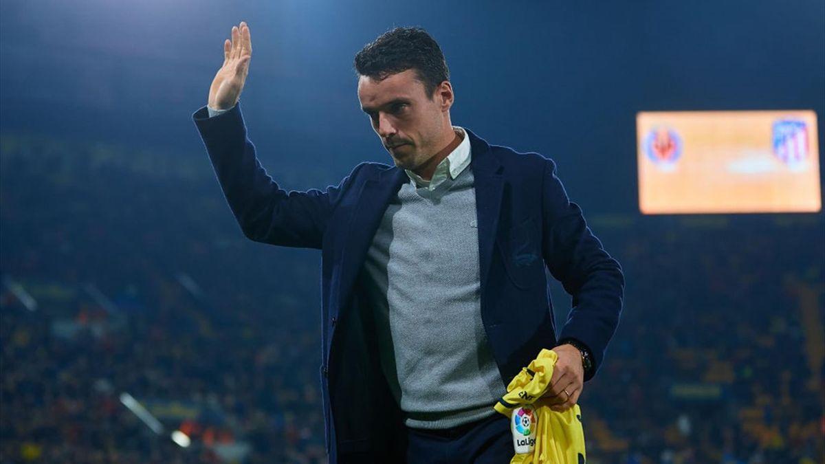 Роберто Баутиста-Агут на матче «Вильярреал» – «Атлетико»