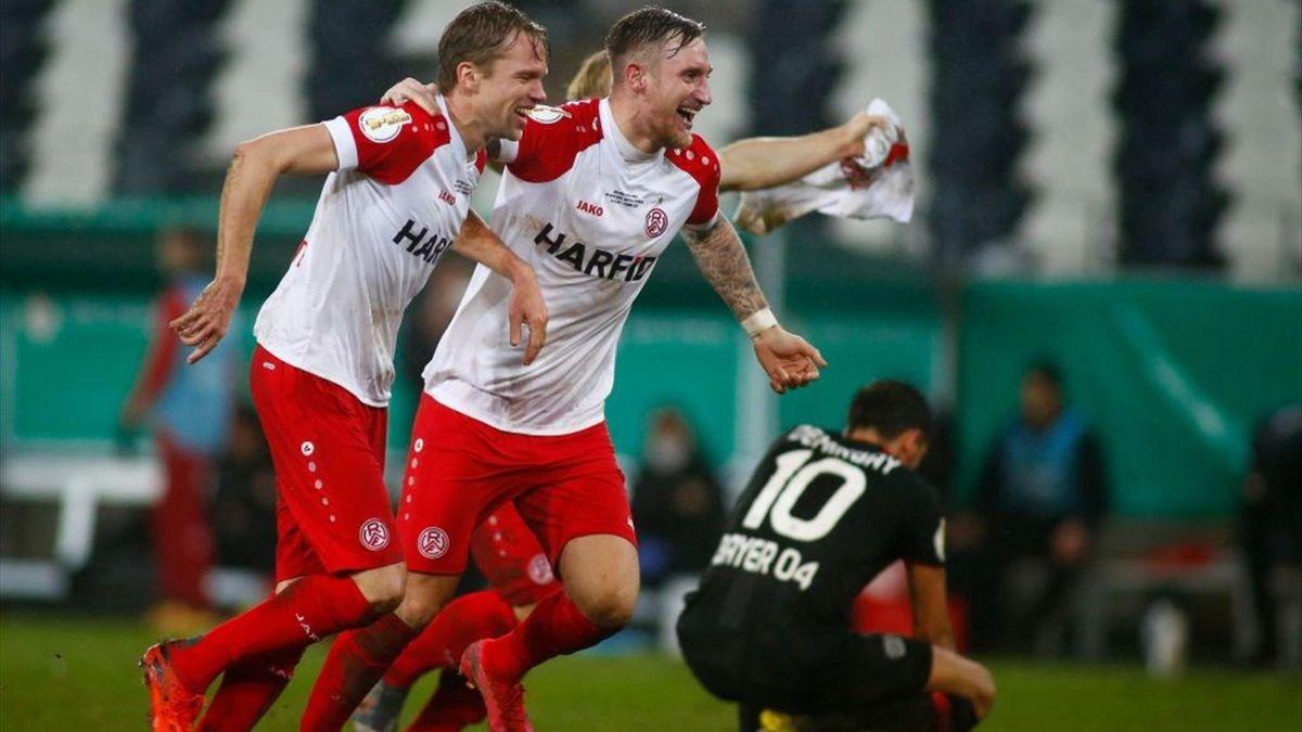 Rot-Weiss Essen-Bayer Leverkusen - DFB Pokal 2020/2021 - Getty Images