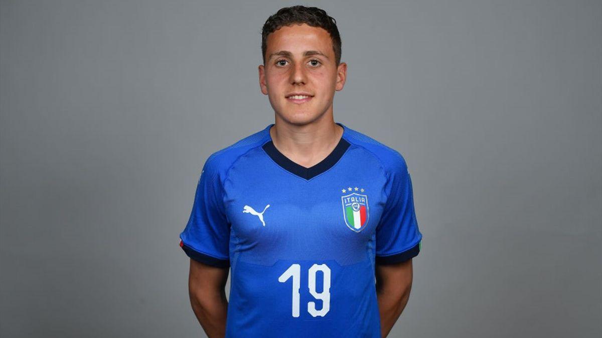 Alessandro Arlotti: foto di rito con l'Italia Under 17 - Getty Images