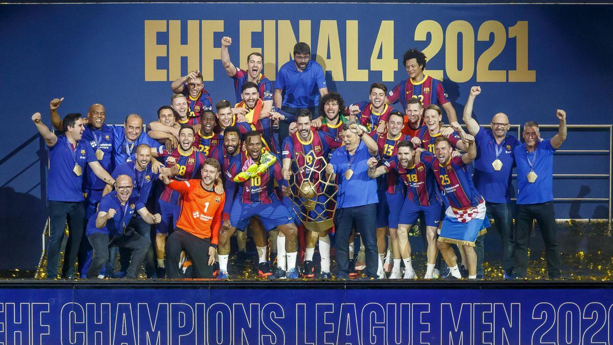 Le FC Barcelone célèbre sa dixième Ligue des Champions, après sa victoire sur Aalborg en juin 2021