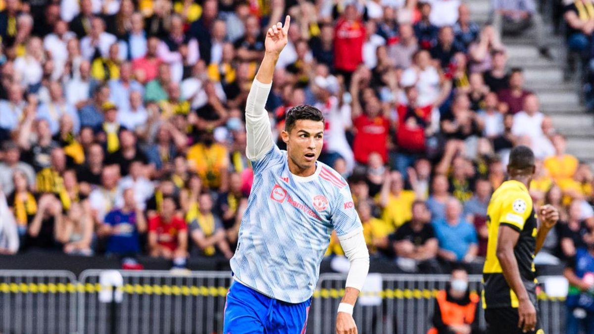 Cristiano Ronaldo in seinem 177. Champions-League-Spiel bei den Young Boys Bern