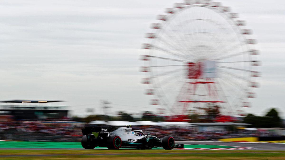 Valtteri Bottas (Mercedes) au Grand Prix du Japon 2019