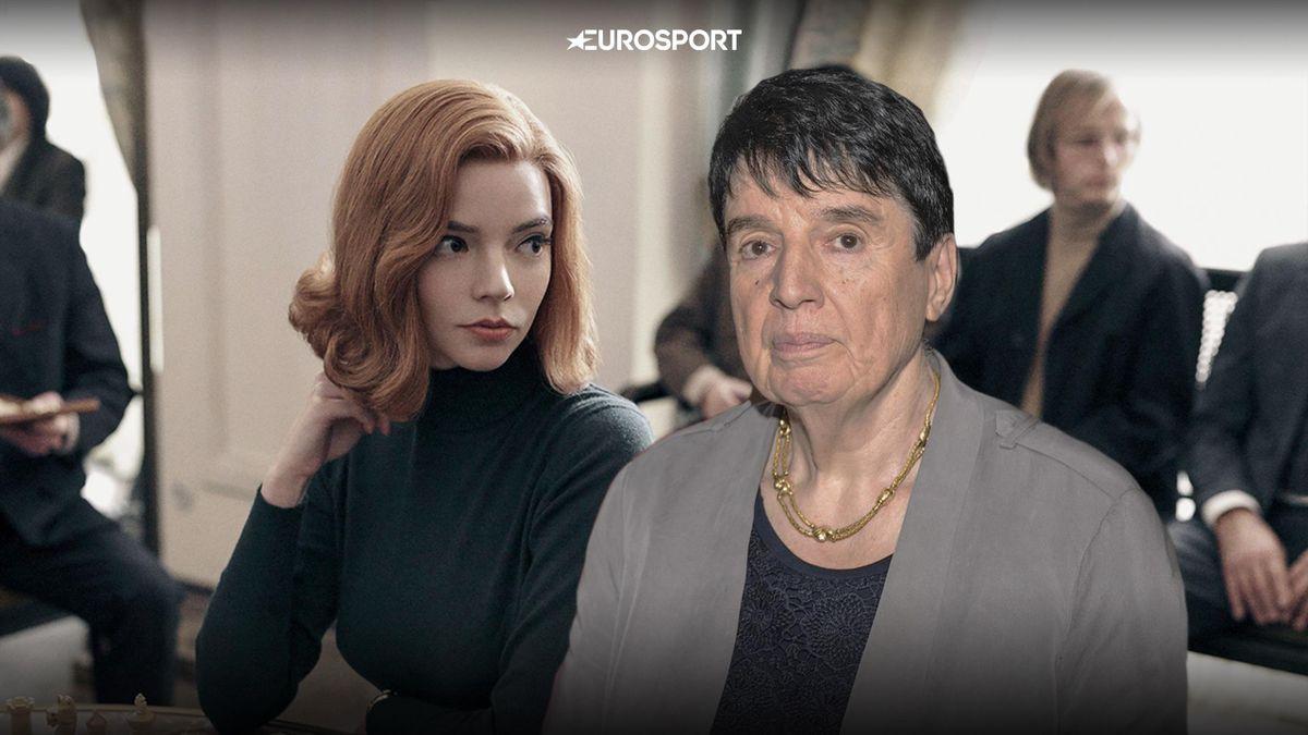 Нона Гаприндашвили и Аня-Тейлор Джой, «Ход королевы»