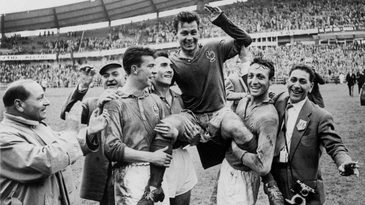 1958 Just Fontaine France Coupe du monde