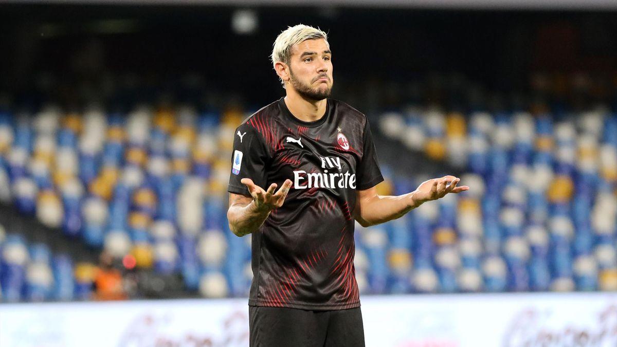 Theo Hernandez avec l'AC Milan, 2020