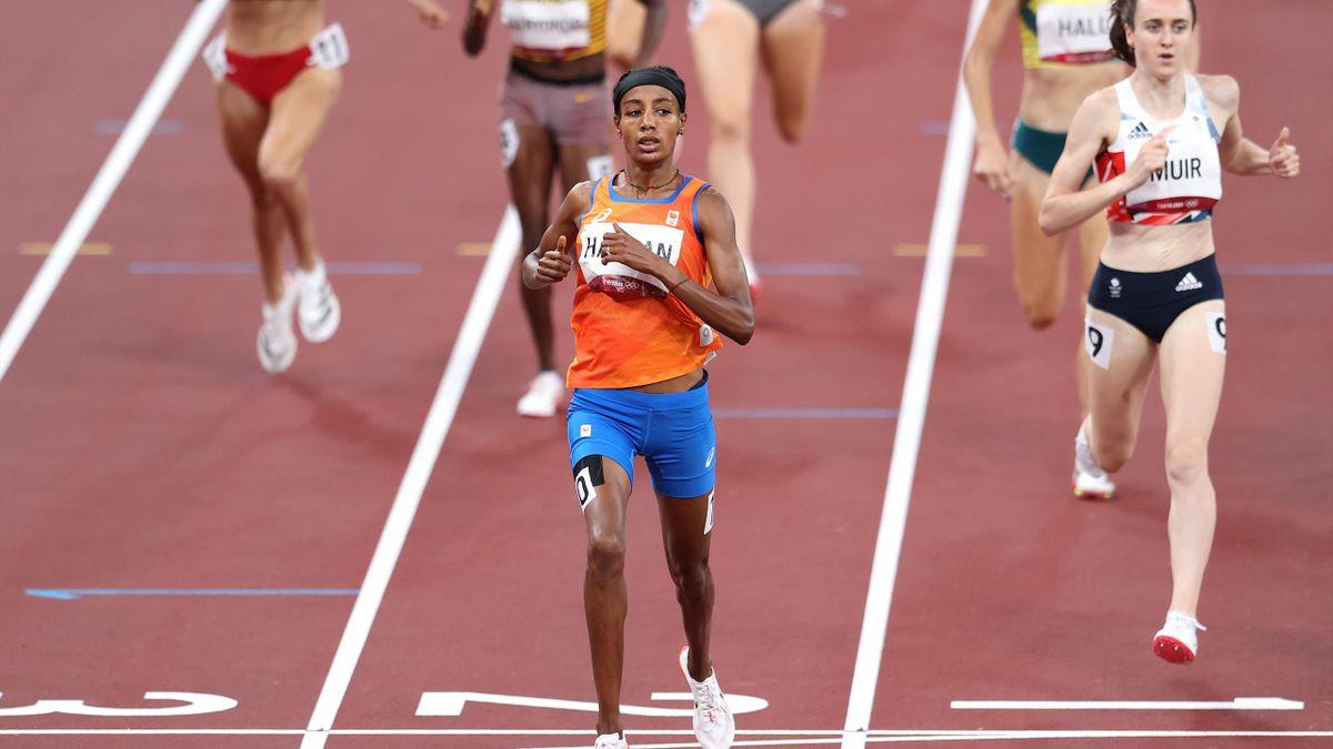 Sifan hassan wint bronzen medaille op 1500 meter