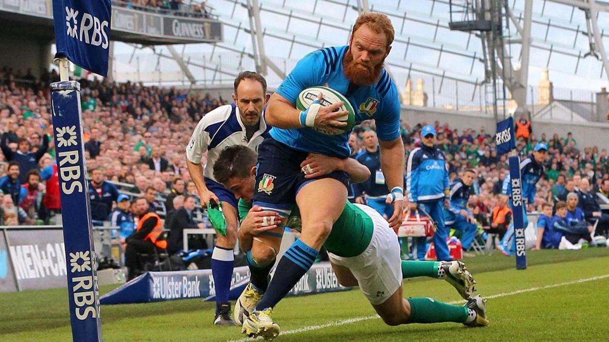 Garcia - Irlanda vs Italia - Rugby 6 Nazioni