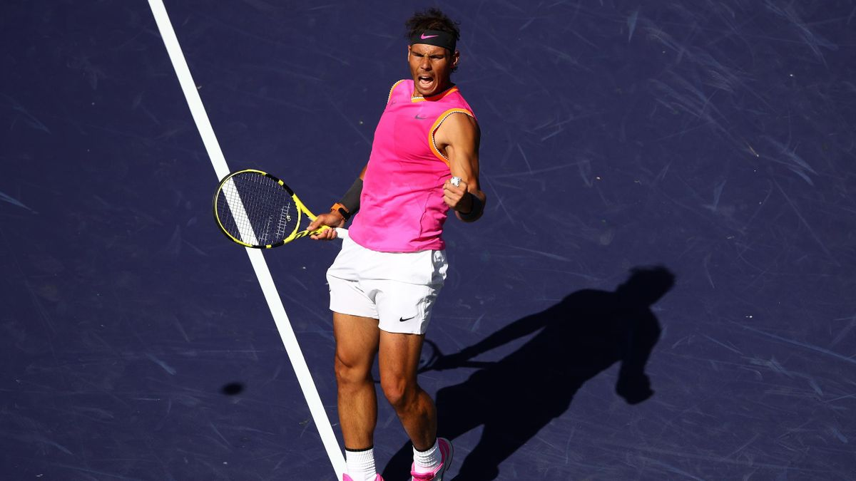 Rafael Nadal à Indian Wells