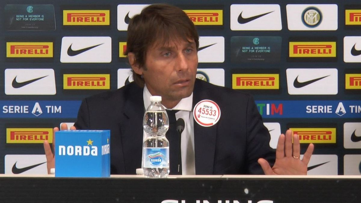 Antonio Conte nella conferenza stampa post partita di Inter-Parma