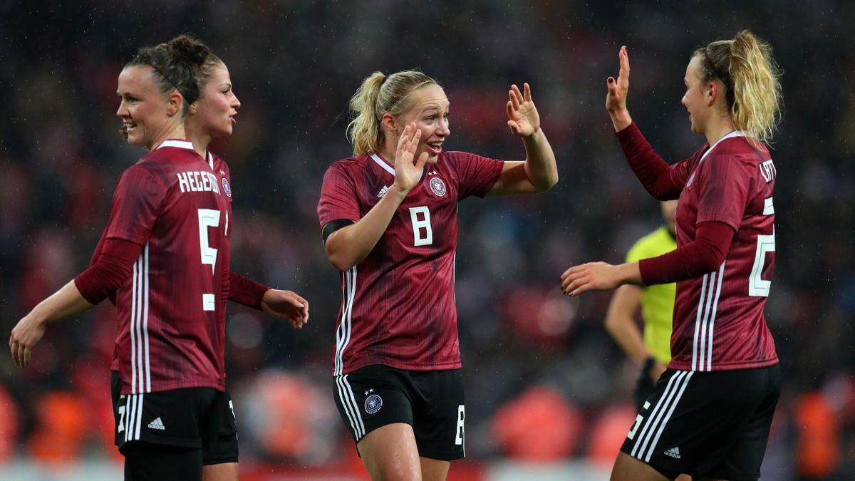 DFB-Frauen siegen gegen England