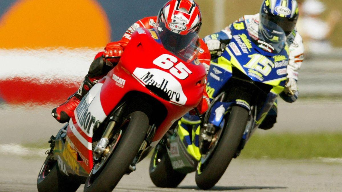 Loris Capirossi GP Brazil 2003