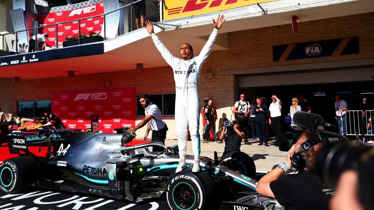 Lewis Hamilton (Mercedes) - 2019 ABD Grand Prix'si