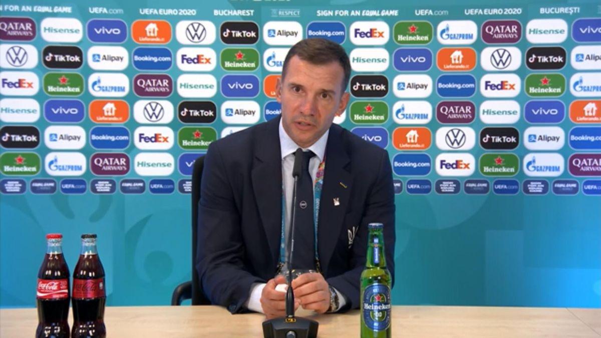 Шевченко: «После гола македонцев появилась нервозность»