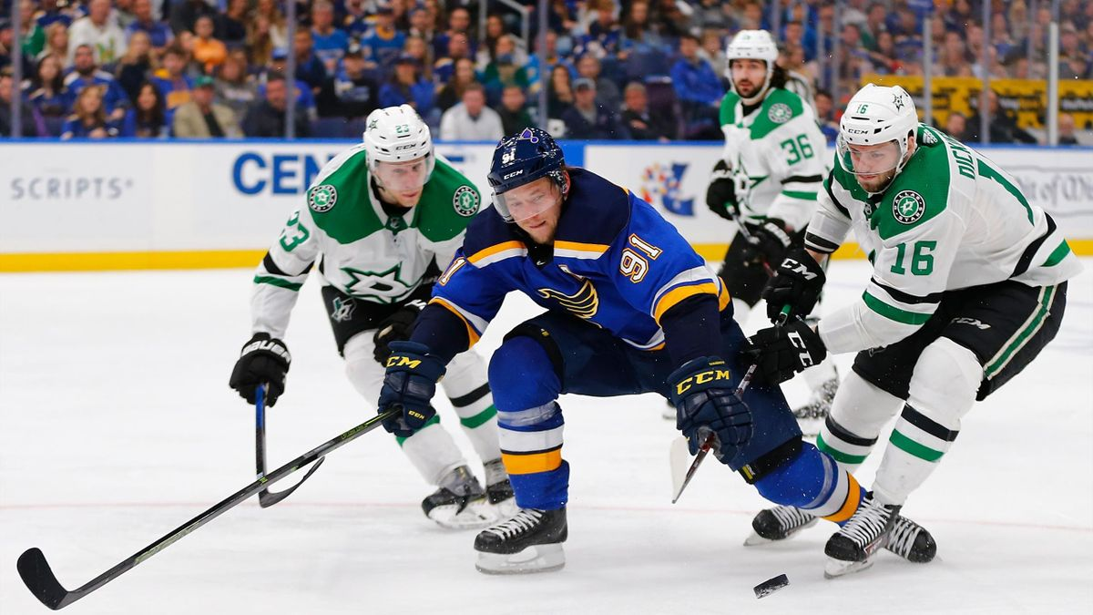 NHL Highlights - Dallas Stars vs St. Louis Blues