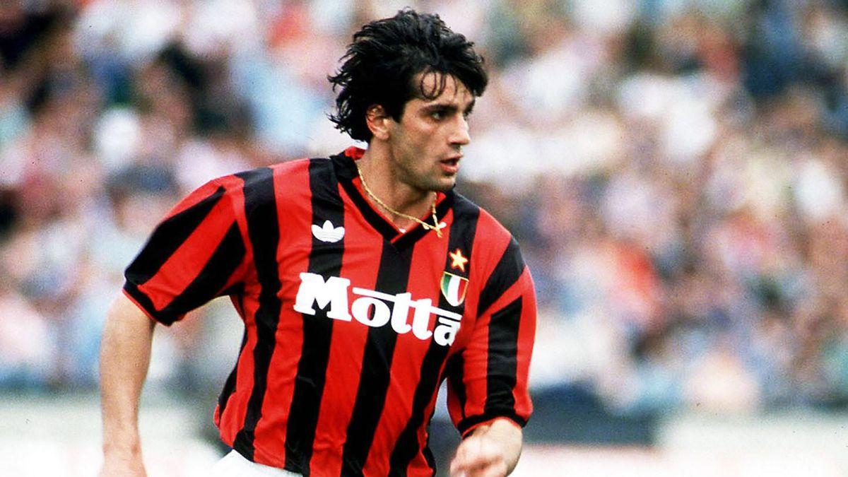 Gianluigi Lentini 1993 im Trikot der AC Milan
