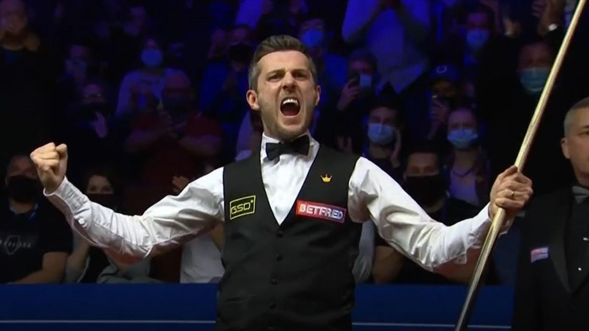 Mark Selby ünnepel