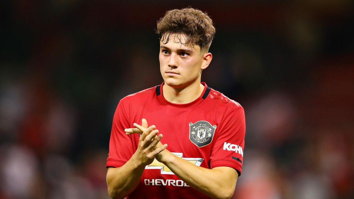 Daniel James is already making an impression at Manchester United