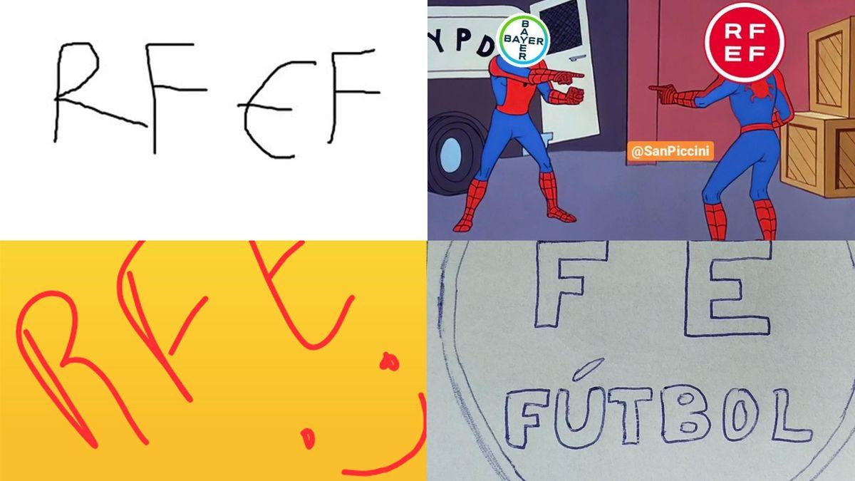 Los memes del nuevo logo de la Federación Española de Fútbol