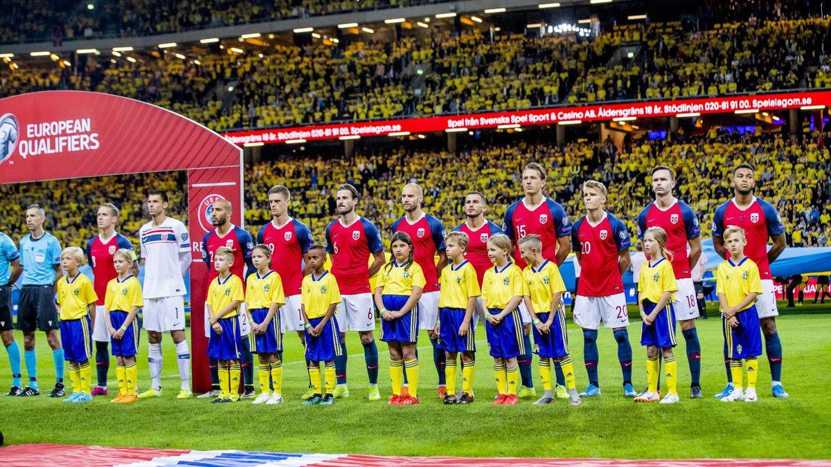 Norge på Friends Arena i Sverige