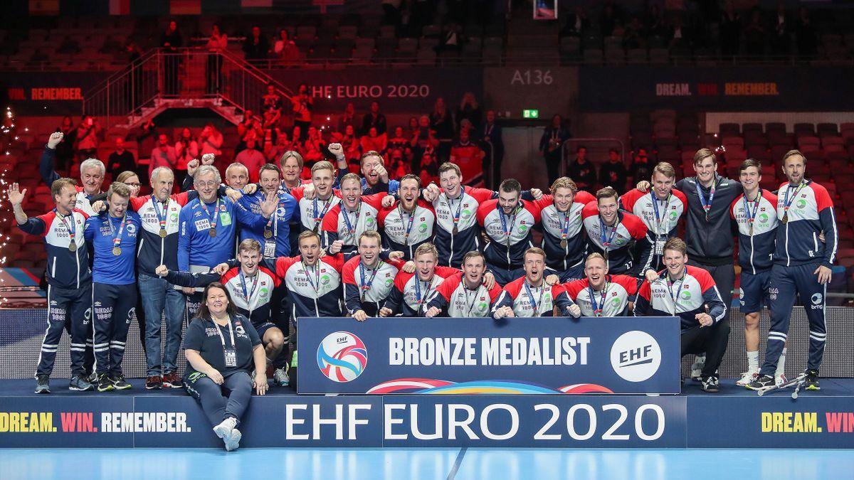 La Norvège, vice-championne du monde en 2017 et en 2019, a décroché la médaille de bronze à l'Euro-2020 messieurs de handball en s'imposant contre la Slovénie 28 à 20