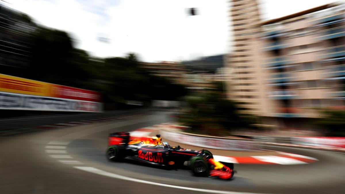 Daniel Ricciardo (Red Bull) au Grand Prix de Monaco 2016