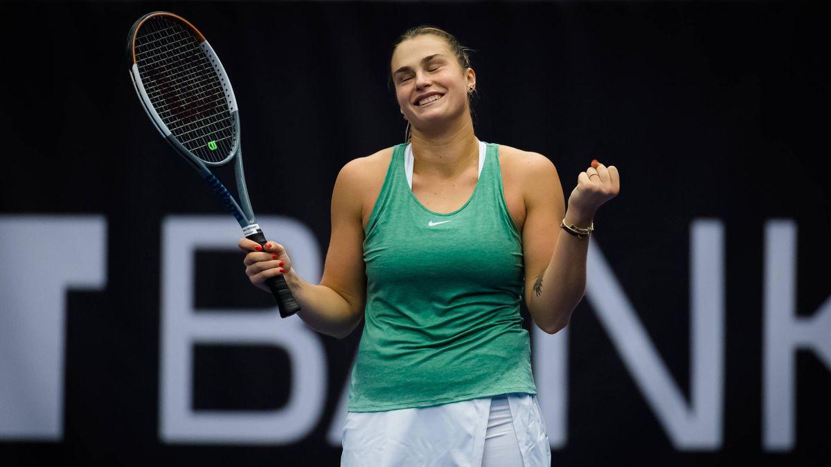 Aryna Sabalenka, campioană la Ostrava