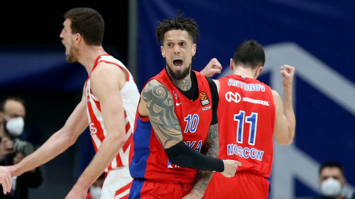Daniel Hackett, CSKA Mosca - Euroleague 2020-21