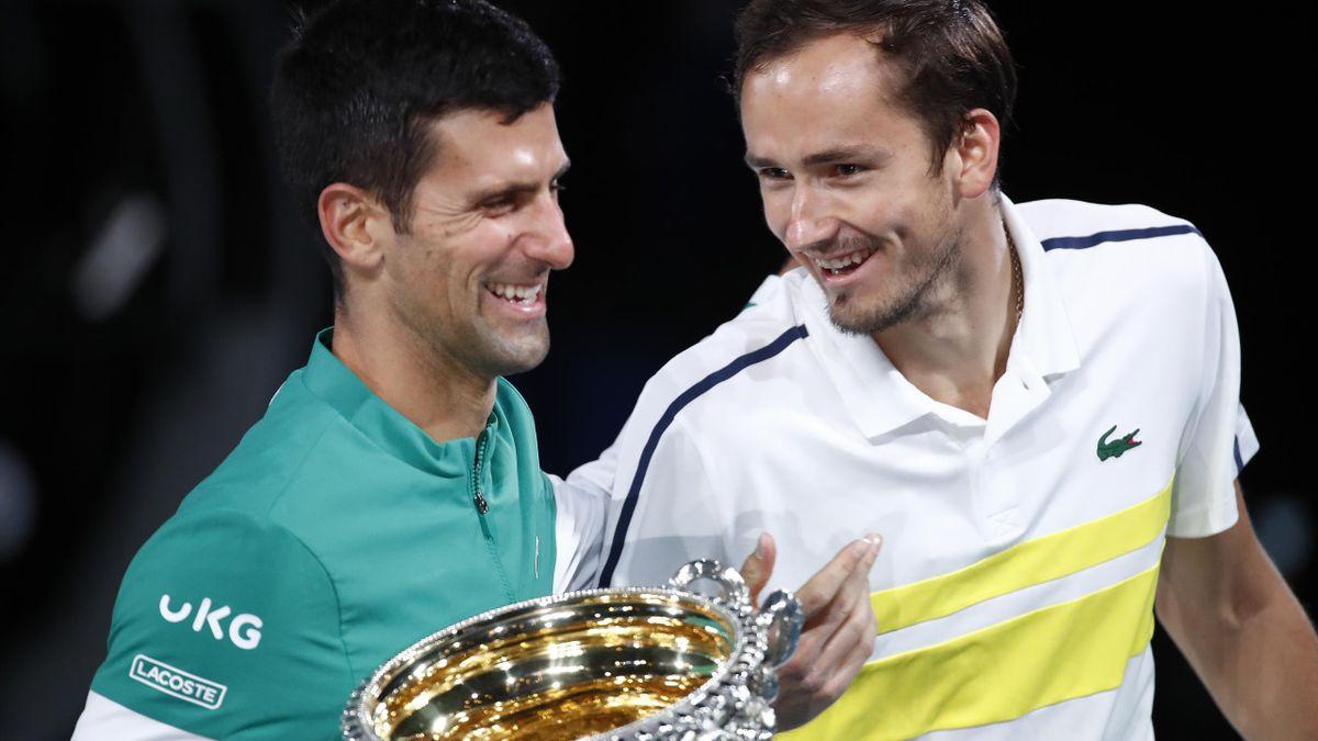 Novak Djokovic & Daniil Medvedev