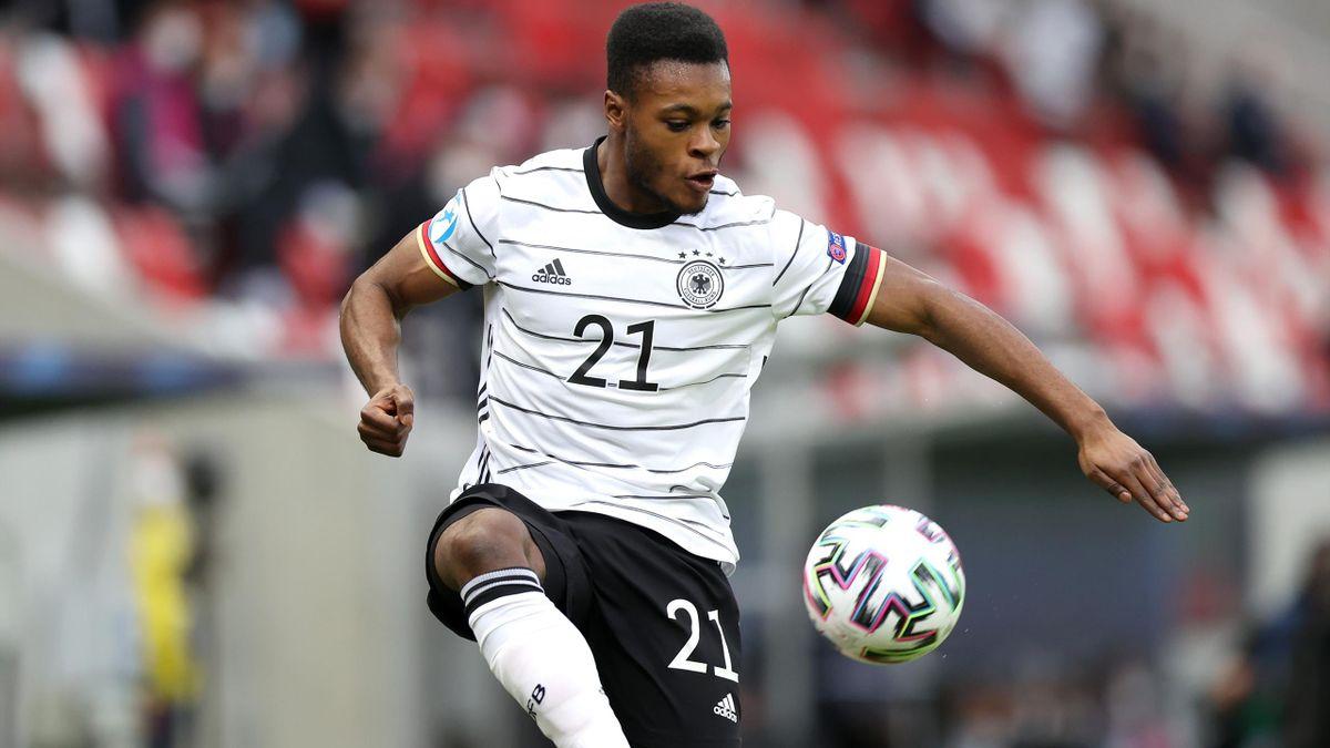 Ridle Baku im U21-EM-Gruppenspiel gegen Rumänien 2021