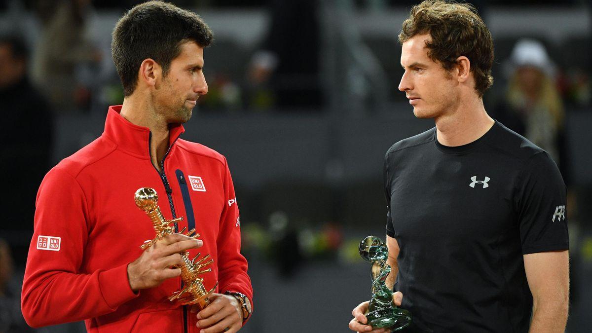 Novak Djokovic et Andy Murray à Madrid