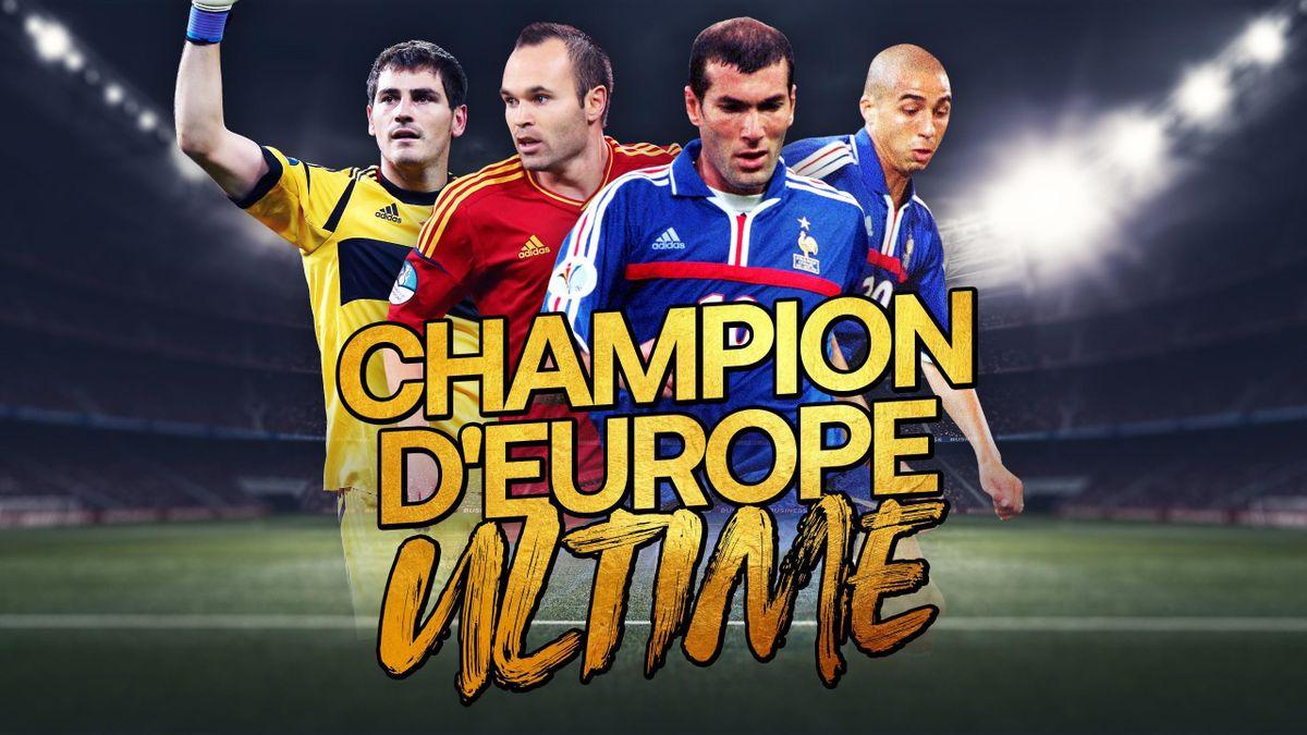 Espagne 2012 versus France 2000, telle est la grande finale de notre tournoi du champion d'Europe ultime.