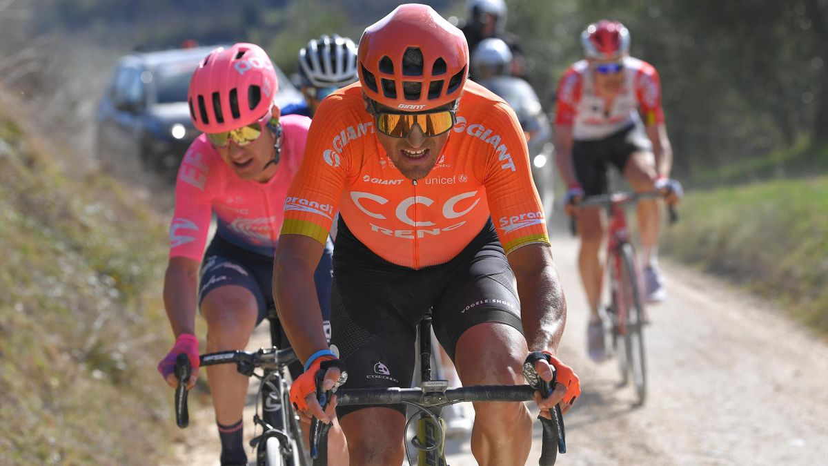 Greg Van Avermaet, Simon Clark | Strade Bianche Cycling | ESP Player Feature