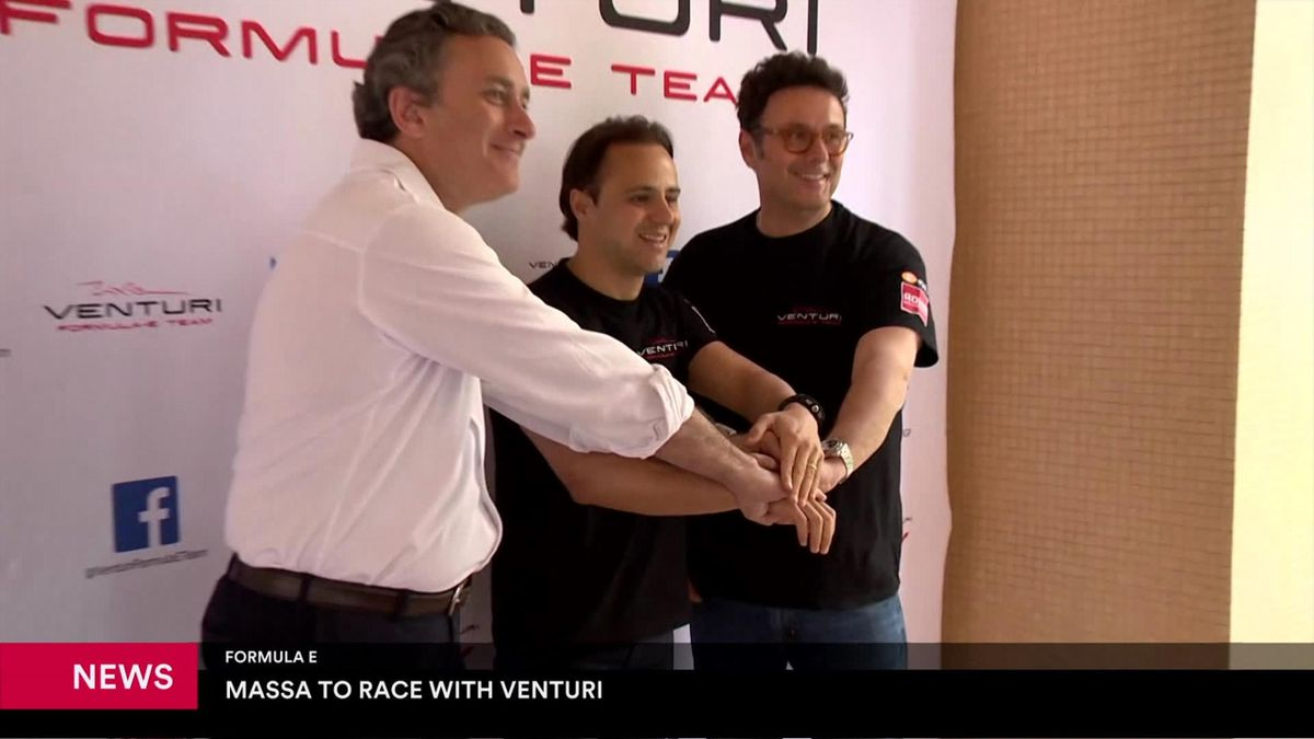 Eurosport News : Felipe Massa signs with Formula E