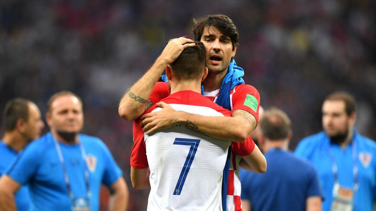 Ведран Чорлука после финала ЧМ-2018 Франция – Хорватия