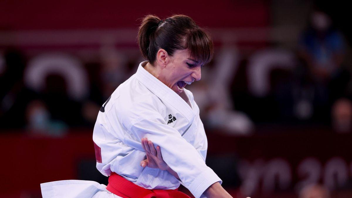 Sandra Sánchez (España, kárate). Juegos Olímpicos Tokio 2020