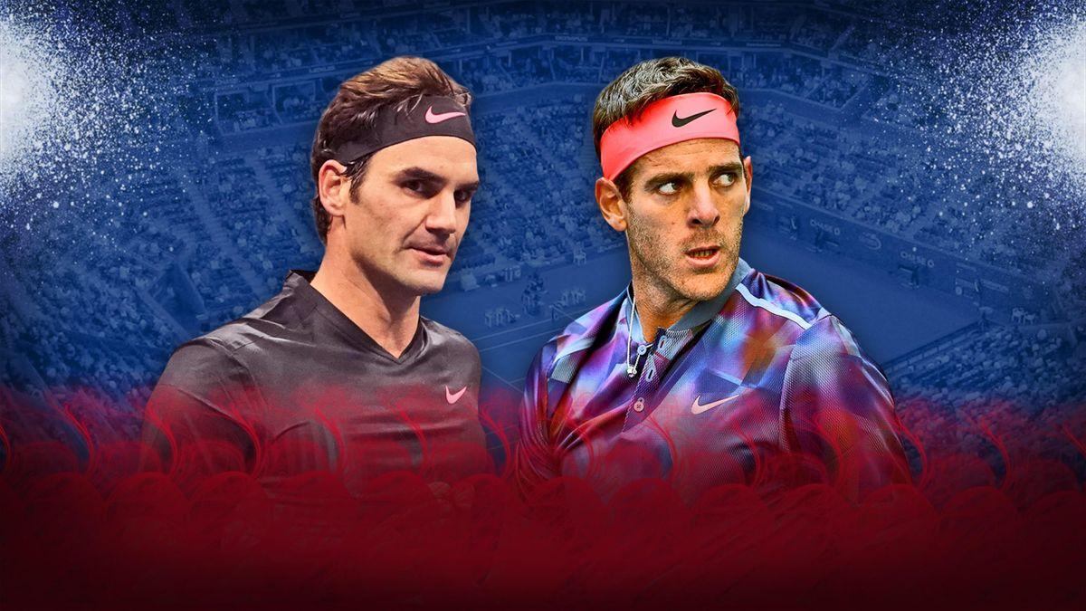 Federer - Del Potro - US Open 2017