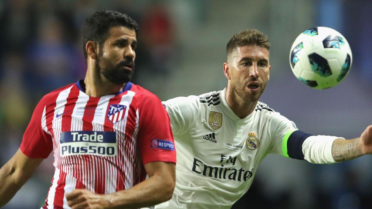 Atletico Madrid, Real Marid, Diego Costa, Sergio Ramos